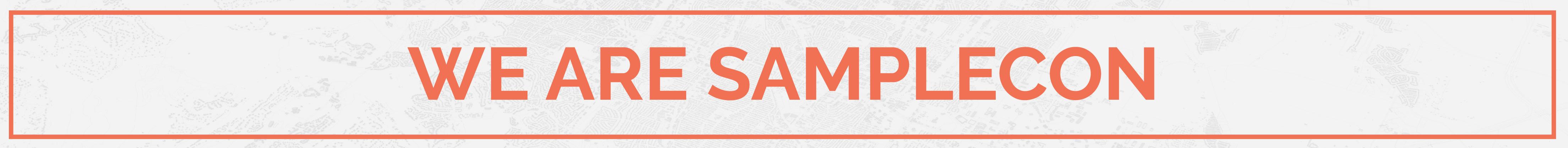 We Are SampleCon