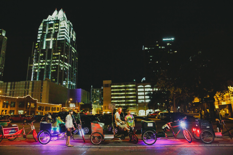 Pedicabs in Austin